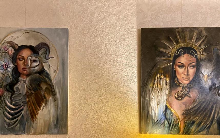 """Картины художница пишет не для продажи. Фото """"Metro"""""""