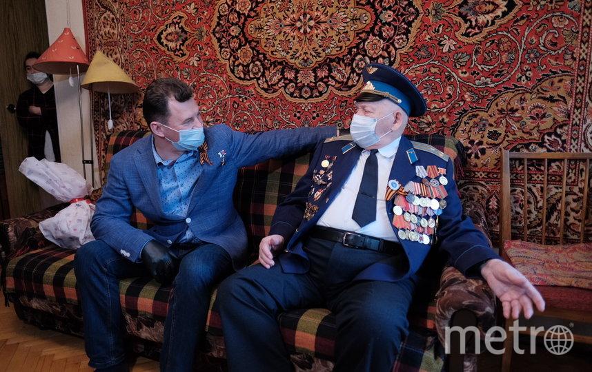 Встреча с ветераном. Фото Иван Степанов