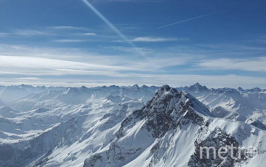 При сходе лавины во французских Альпах погибли четыре человека. Фото pixabay.