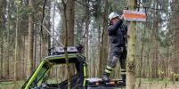 """Координатор """"ЛизаАлерт"""" Олег Леонов рассказал о системе быстрой навигации в лесу"""