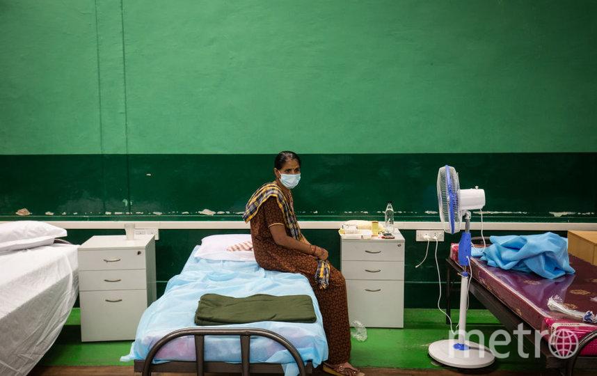 В Индии сейчас наблюдается сложная эпидемиологическая ситуация. Фото Getty