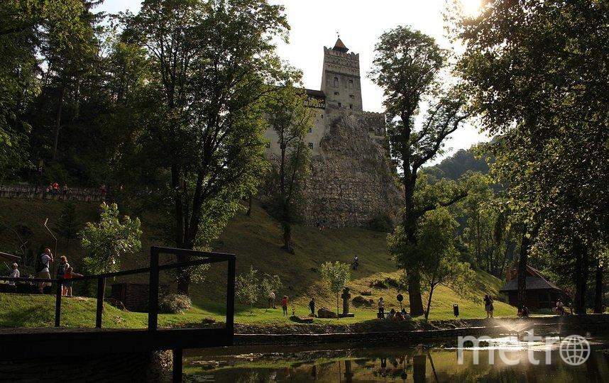 Замок Бран в Румынии. Фото pixabay.com