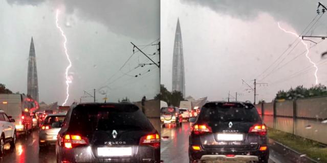 Погода умеет удивлять горожан.