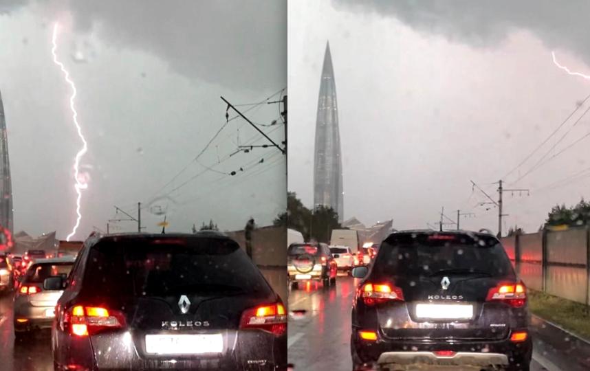 Погода умеет удивлять горожан. Фото Instagram: @primorsky.spb