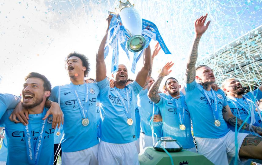 Это уже седьмая победа команды в чемпионате Англии. Фото Getty