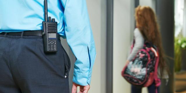 Вооружать школьную охрану - это не решиние проблемы, считает эксперт.