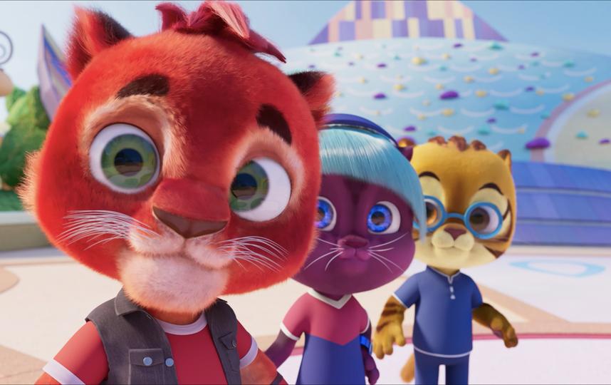 Самый «пушистый» мультсериал про котиков-супергероев стартует на IVI.