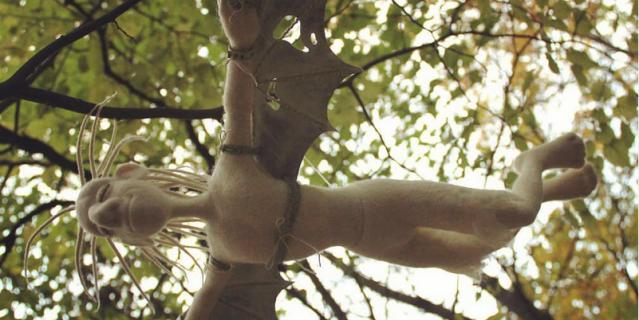 Инна Чиж также создает авторские куклы из войлока.