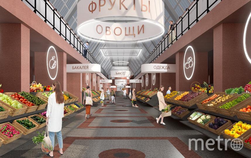 Проект реконструкции Сытного рынка. Фото gov.spb.ru, Предоставлено организаторами