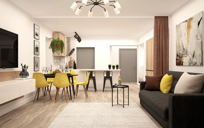Один из вариантов расширения пространства – сделать из квартиры студию. Фото pixabay.com