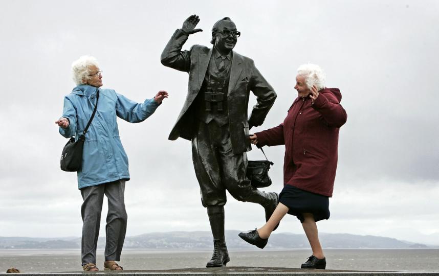 Некоторые люди счастливы вне зависимости от возраста. Фото Getty