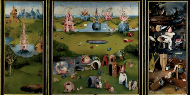 """Нежилой сад"" Хосе Мануэля Баллестера."