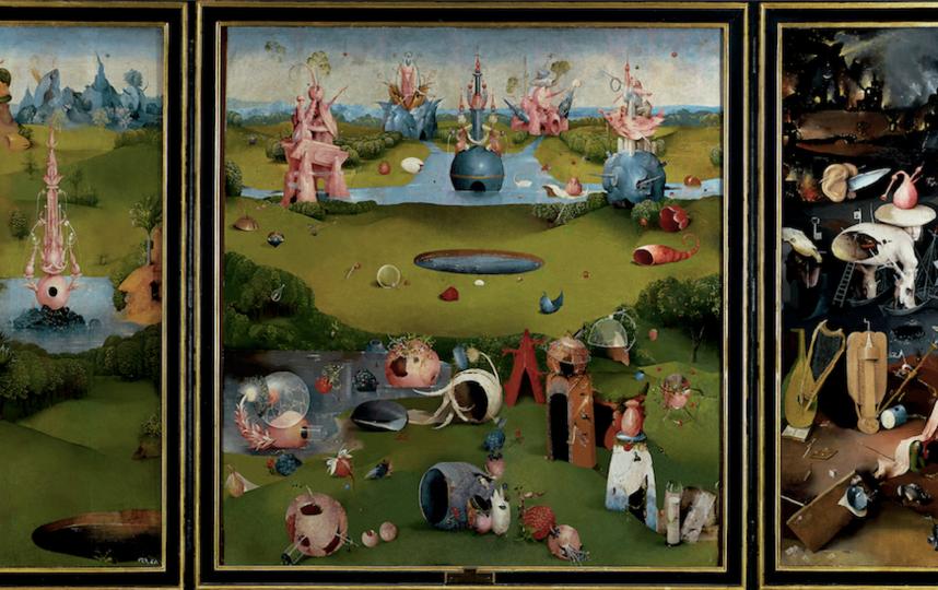 """Нежилой сад"" Хосе Мануэля Баллестера. Фото пресс-служба музея"