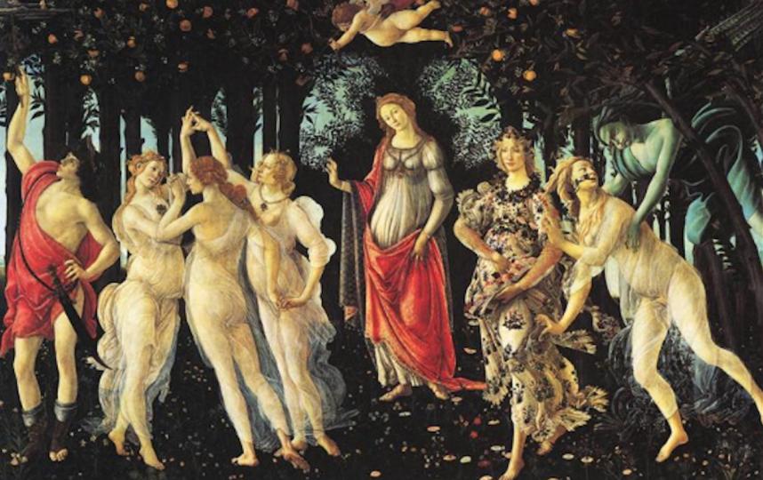 """""""Весна"""" Сандро Боттичелли. Фото пресс-служба музея"""