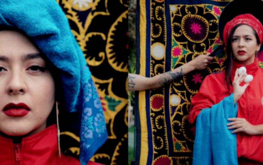 """Певица Манижа будет представлять Россию на международном песенном конкурсе """"Евровидение"""". Фото Скриншот Instagram: @manizha."""