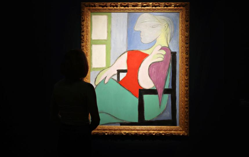 """Женщина, сидящая у окна"" (""Мари-Терез""). Фото Getty"