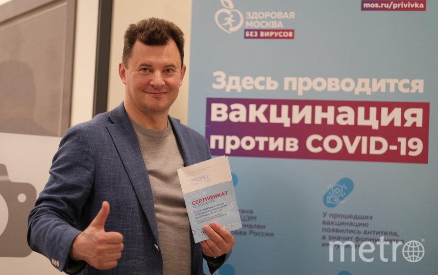 После вакцинации Романенко чувствует себя хорошо. Фото Иван Степанов