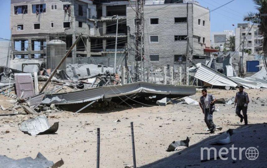 С 10 мая израильская армия и сектор Газа не прекращают обмен ракетными ударами. Фото Getty.