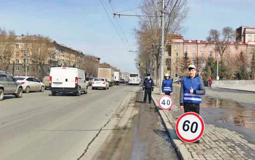 В течение недели в городе пройдут сразу несколько акций, направленных на профилактику ПДД с участием пешеходов. Фото ГИБДД НСО