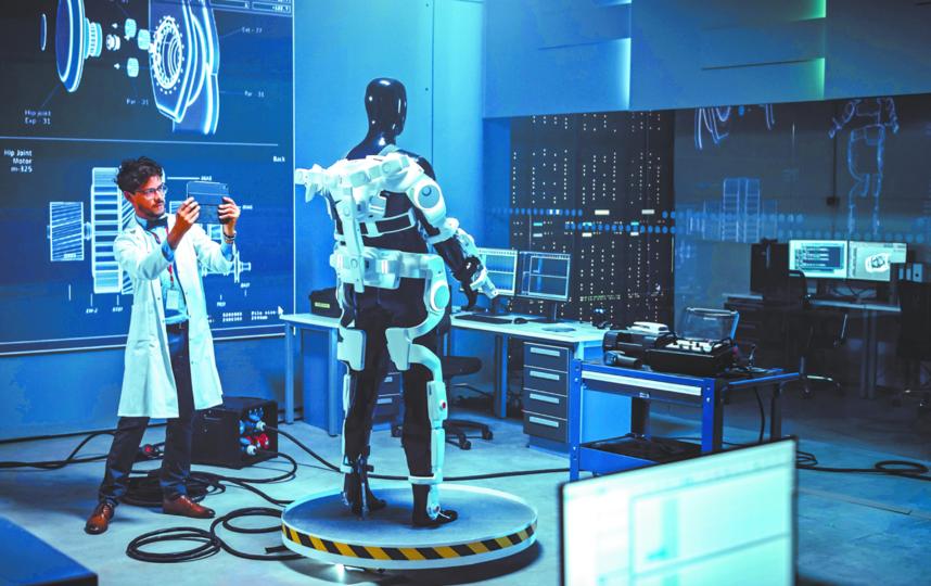 По словам экспертов, рынок экзоскелетов должен вырасти до 6,8 млрд долларов к 2030 году. Фото ISTOK