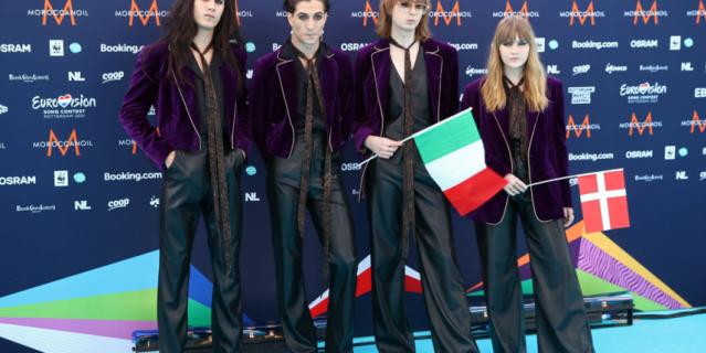Рок-группа Maneskin – Zitti E Buoni.
