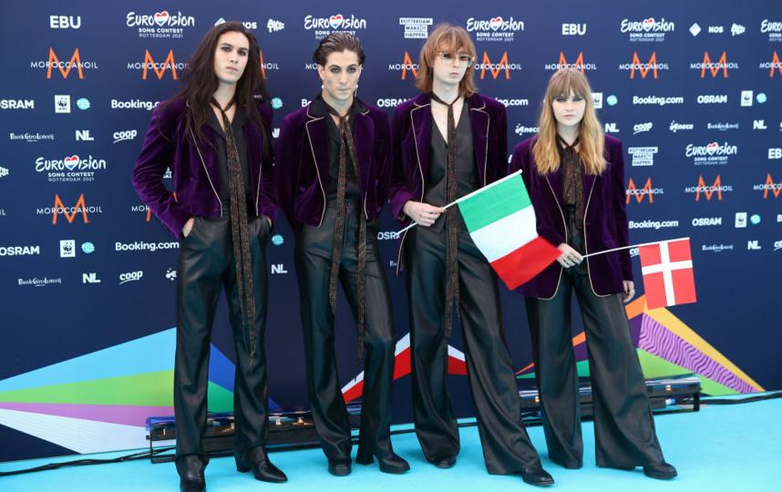 Рок-группа Maneskin – Zitti E Buoni. Фото Getty