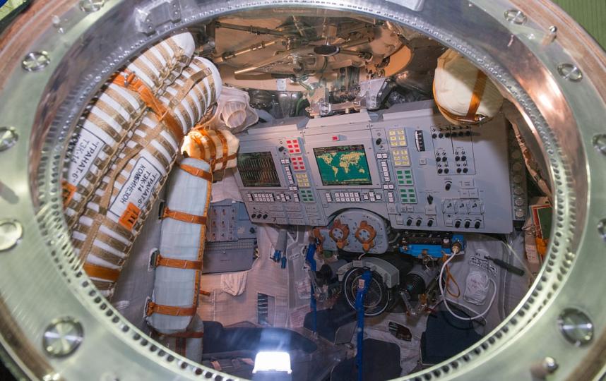 """Космический корабль """"Союз МС-08"""". Фото Сайт """"Главкосмоса"""""""