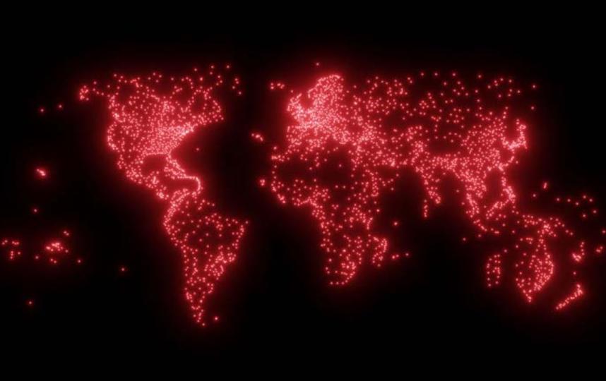Карты создал канадский картограф Питер Этвуд.