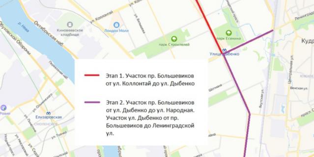 По планам Смольного велодорожка в Невском районе появится в 2021 году.