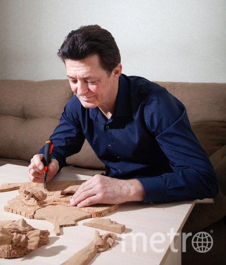 Игорь Копачевский за работой. Фото instagram@pr0bka
