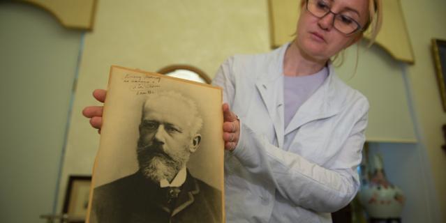 Чайковский оставил дарственную надпись на своей фотографии за месяц до смерти.