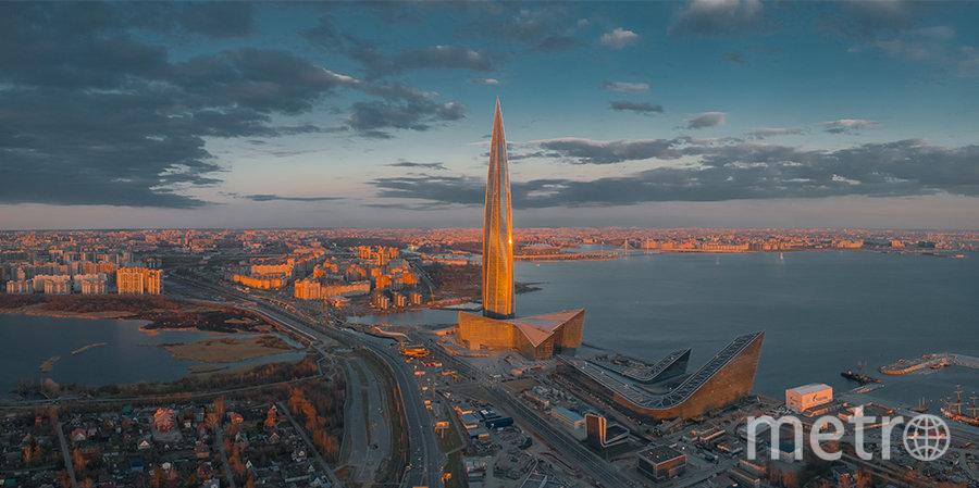 """Лахта центр"""" стал победителем международной премии по высотному строительству. Фото Пресс-служба Лахта Центра."""