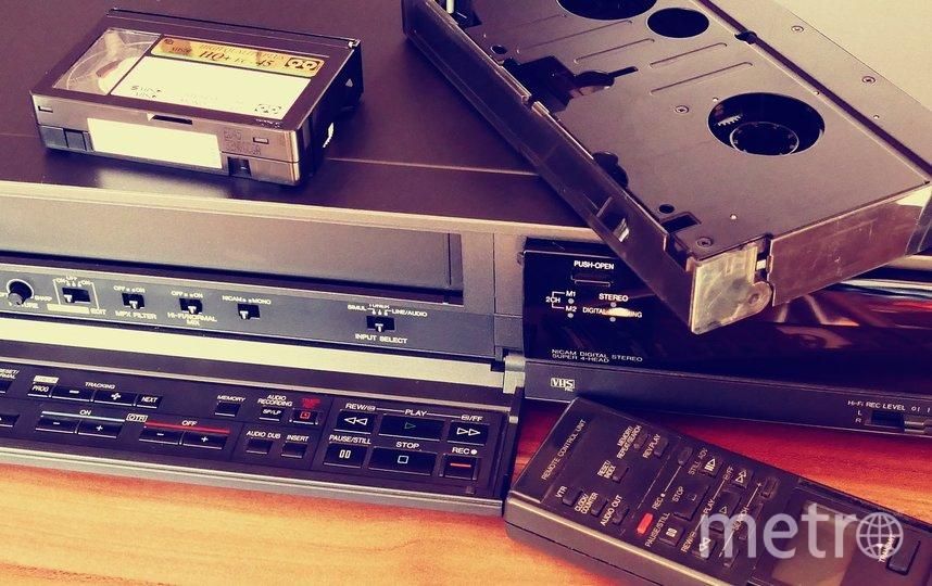 Видеомагнитофоны для многих ещё были недоступной роскошью. Фото instagram