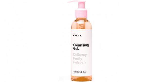 EMVY Cleansing Gel.