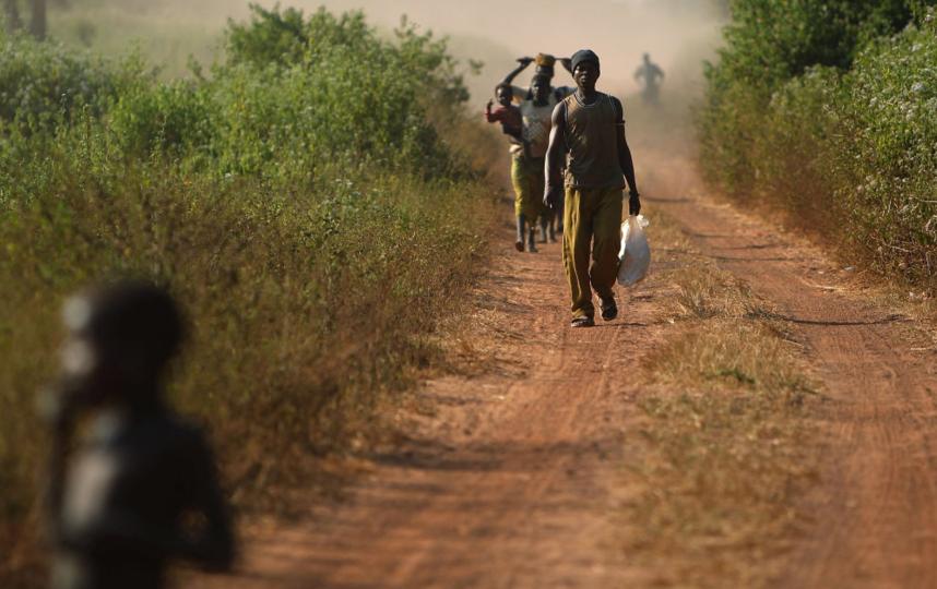 Центральная Африка. Фото Getty