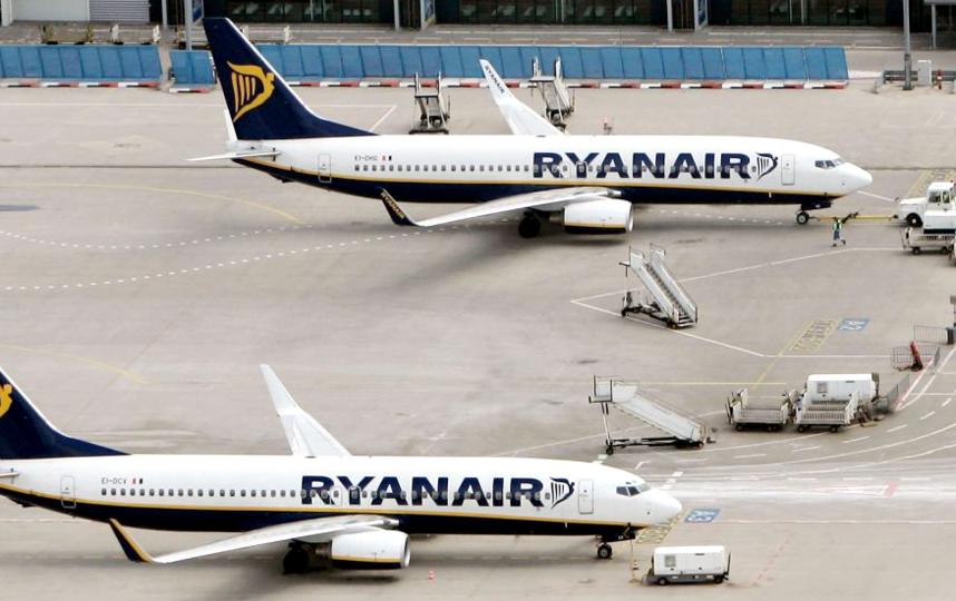 Борт авиакомпании Ryanair. Фото Getty