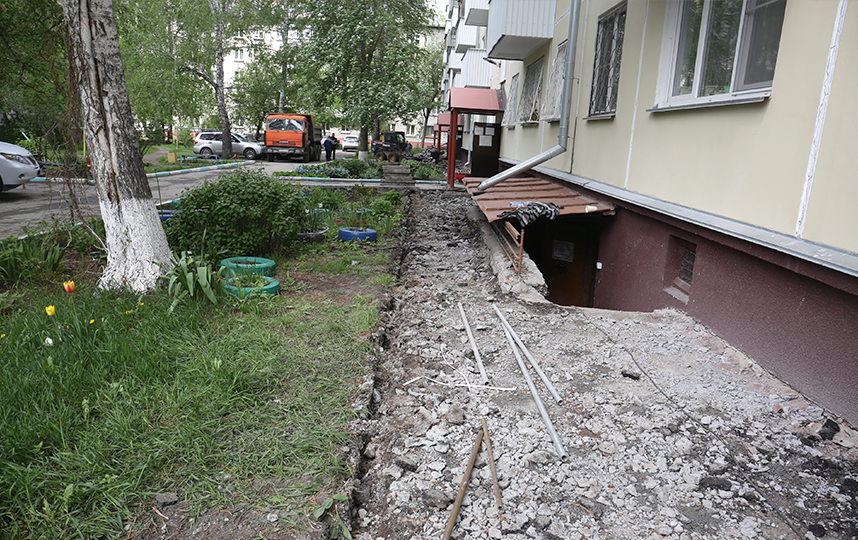 Капремонт МКД на Гоголя. Фото пресс-центр Мэрии Новосибирска
