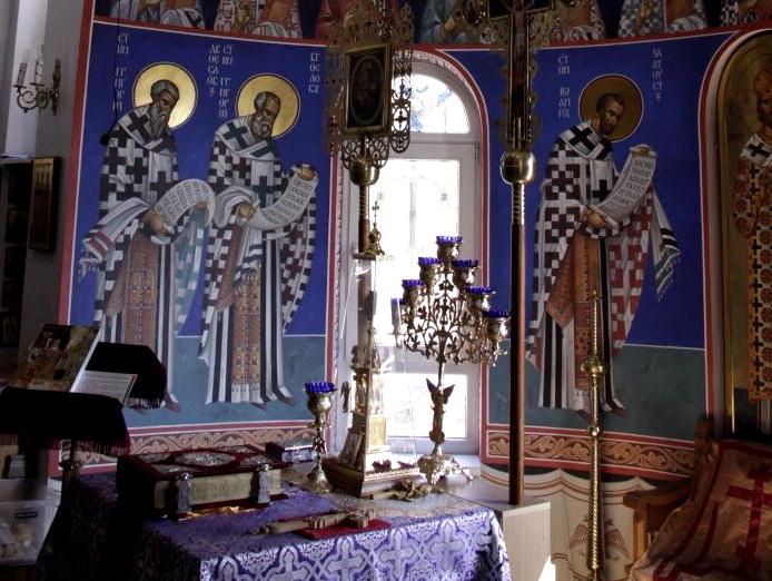 Церковь Георгия Победоносца, Краснодар, Хутор Ленина.
