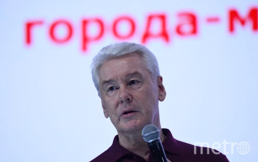 Собянин. Фото РИА Новости