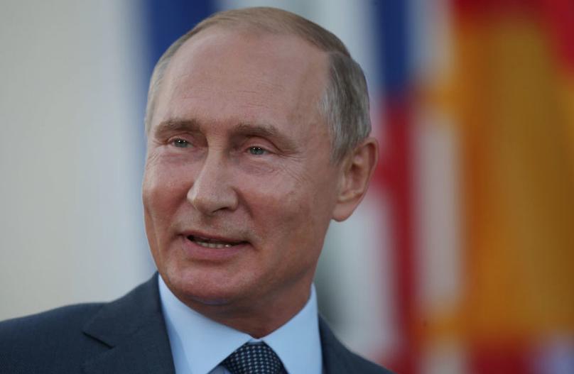 Владимир Путин, архивное фото. Фото Getty.