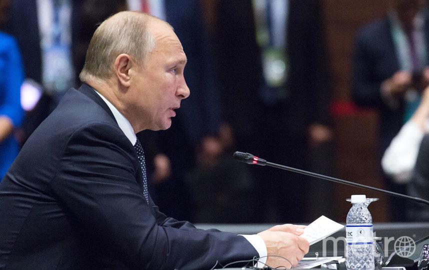 Владимир Путин, архивное фото. Фото Getty