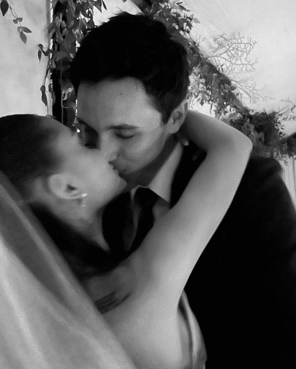 Ариана Гранде и Далтон Гомес. Фото Instagram: @arianagrande
