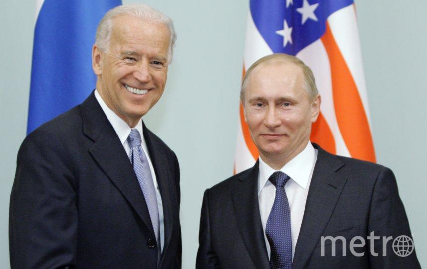 Джо Байден и Владимир Путин. Фото Алексей Дружинин, РИА Новости