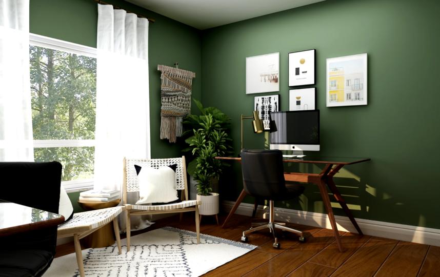 Компания Behr проанализировала тренды и назвала главными цветами 2021 года пастельные коричневые, зелёные, голубые оттенки. Фото UNSPLASH.COM