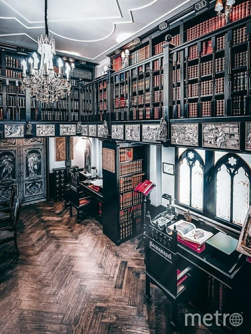 Где находятся самые неординарные библиотеки Петербурга. Фото vk.com/event189634797.