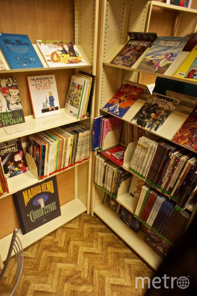 Где находятся самые неординарные библиотеки Петербурга. Фото vk.com/comix_library.