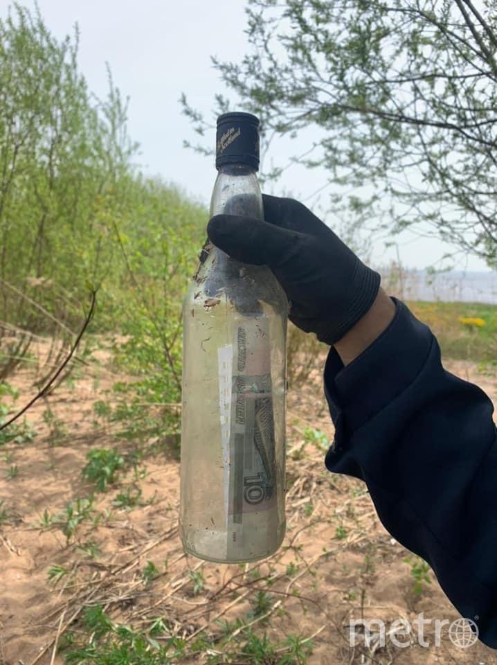 Бутылку с посланием нашел эколог. Фото facebook.com/natalia.kunowska.