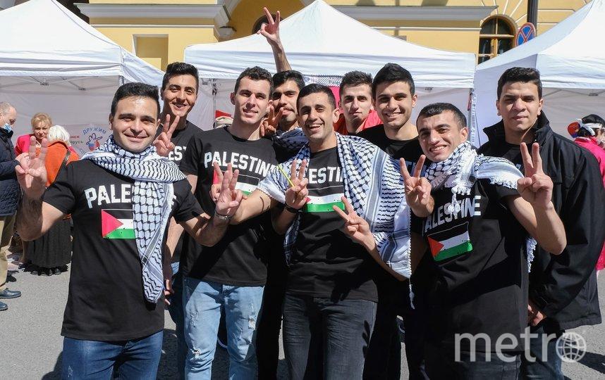 "Студенты Палестины. Фото Алена Бобрович, ""Metro"""