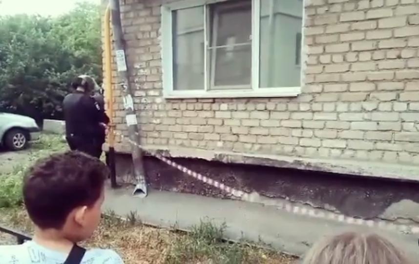 К зданию никого не подпускают. Фото Скриншот Instagram: @news_russia27