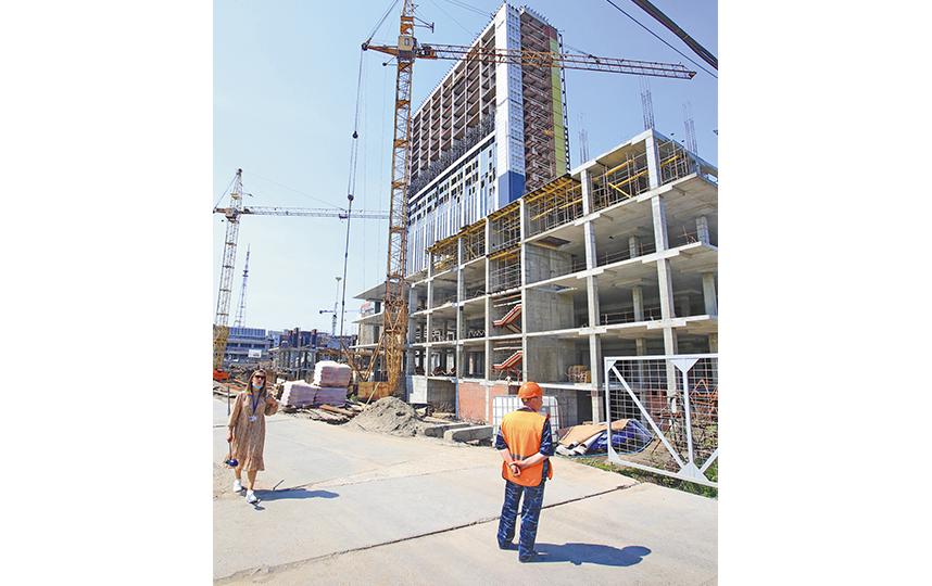260 номеров разместится в новом гостиничном комплексе «Турист». Фото пресс-центр Мэрии Новосибирска